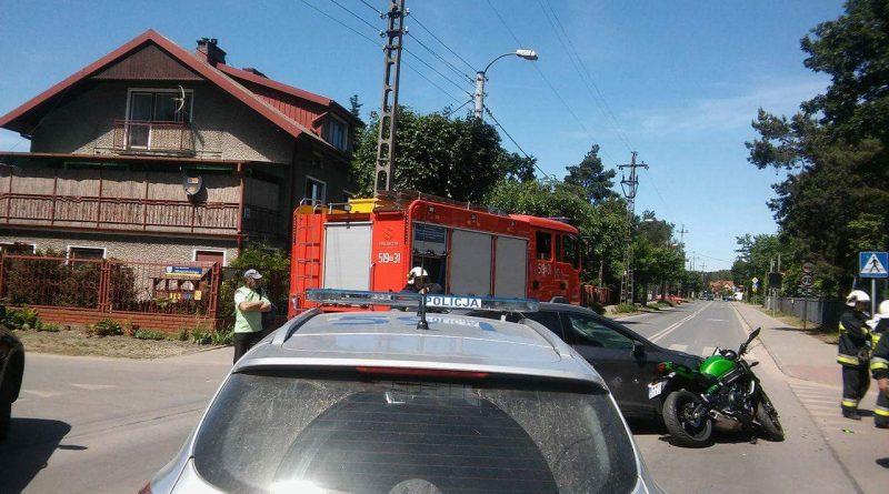 Wypadek na ul. Armii Krajowej