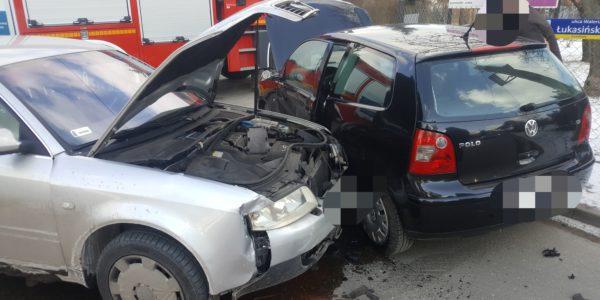 Wypadek na ul. Łukasińskiego