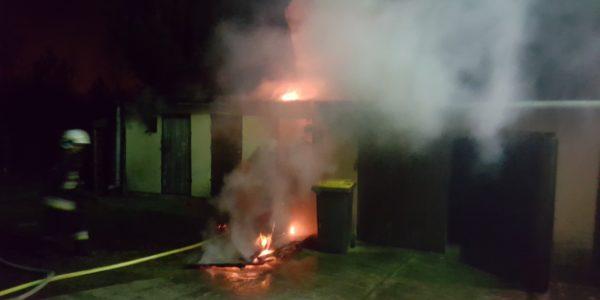 Pożar w Okuniewie