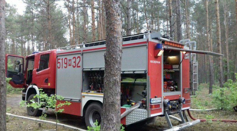 Dwa pożary, wypadek i powalone drzewo